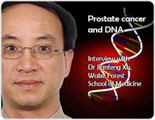 Prostate cancer and DNA: an interview with Dr. Jianfeng Xu